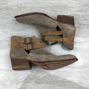 Rebels Leather Booties
